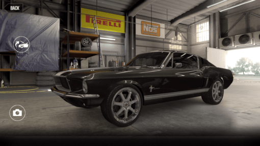 Ford Mustang Fastback 3