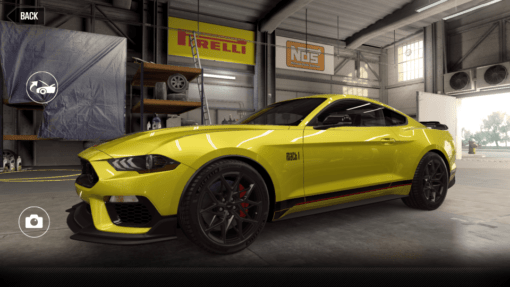 Ford 2021 Mustang Mach 1 5